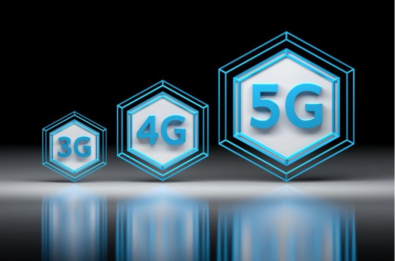 Qual a diferença na cobertura das rede 3G, 4G e 5G?