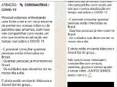 Cibercrime usa Coronavírus para roubar dados pessoais no WhatsApp
